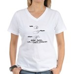 Lady's Choice Women's V-Neck T-Shirt