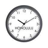 Honolulu Wall Clocks