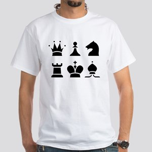Chess White T-Shirt