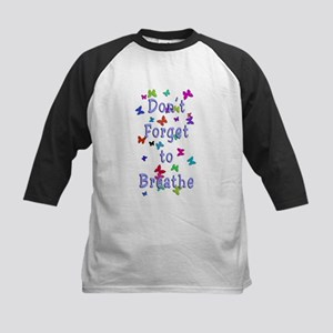 Breathe! Kids Baseball Jersey