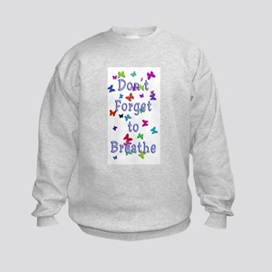 Breathe! Kids Sweatshirt