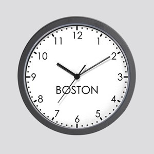 BOSTON Modern Newsroom Wall Clock