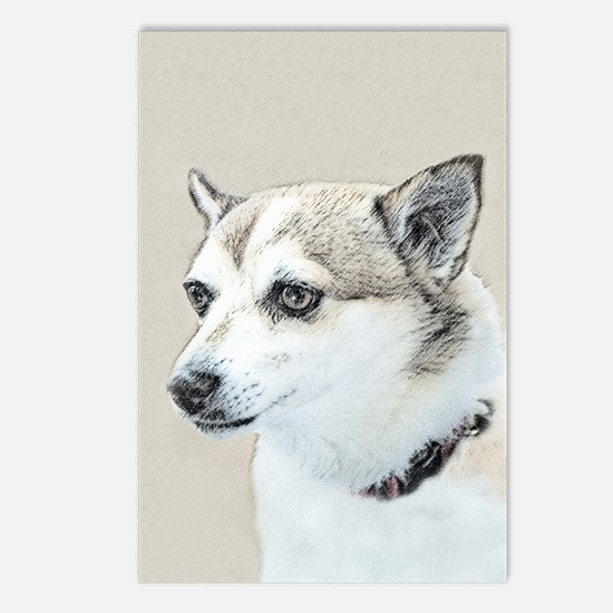 Norwegian Lundehund Postcards (Package of 8)