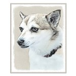 Norwegian Lundehund Small Poster