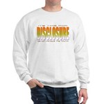 got truth? Disclosure (orange) Sweatshirt