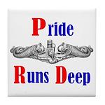 Pride Runs Deep Tile Coaster
