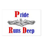 Pride Runs Deep Postcards (Package of 8)