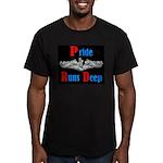 Pride Runs Deep Men's Fitted T-Shirt (dark)