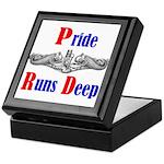 Pride Runs Deep Keepsake Box