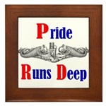 Pride Runs Deep Framed Tile