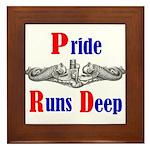 Pride Runs Deep Framed Tile