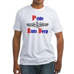 Pride Runs Deep Fitted T-Shirt