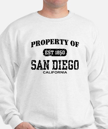 Property of San Diego Sweatshirt