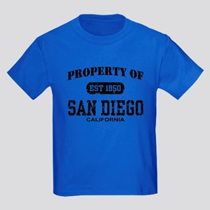 Property of San Diego Kids Dark T-Shirt
