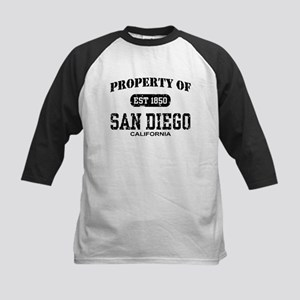 Property of San Diego Kids Baseball Jersey