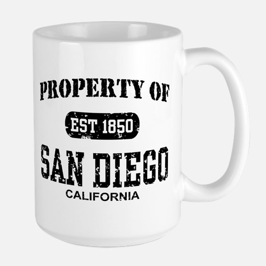 Property of San Diego Large Mug