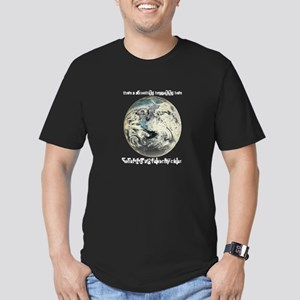 For What It's Worth Men's Fitted T-Shirt (dark)