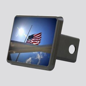 Pear Harbor Memorial Rectangular Hitch Cover
