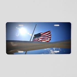 Pear Harbor Memorial Aluminum License Plate
