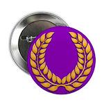Purple with gold laurel Button