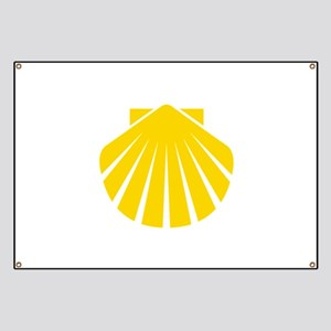 Yellow Scallop Banner