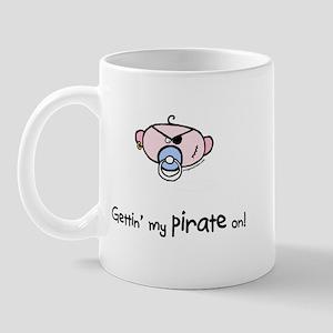 Gettin' my pirate on Mug
