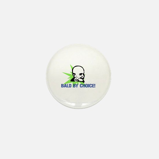 Baldy Mini Button