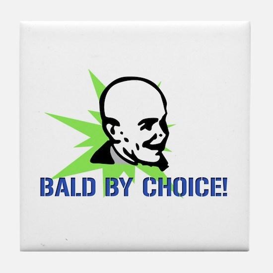 Baldy Tile Coaster