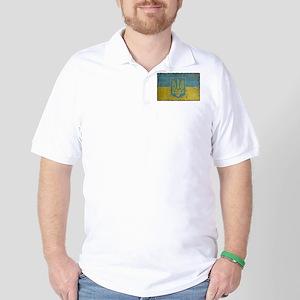 Vintage Ukraine Golf Shirt