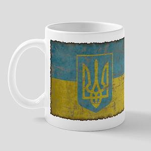 Vintage Ukraine Mug