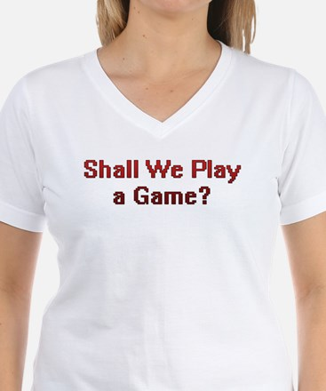 Shall We Play A Game? Shirt