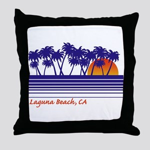 Laguna Beach, CA Throw Pillow