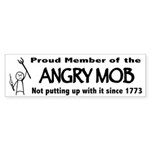 Angry Mob Bumper Sticker (10 pack)