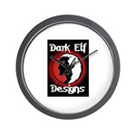 Dark Elf Designs (Dark Elf) Wall Clock