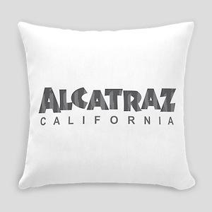 Alcatraz California Everyday Pillow