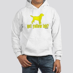 got yellow lab? Hooded Sweatshirt