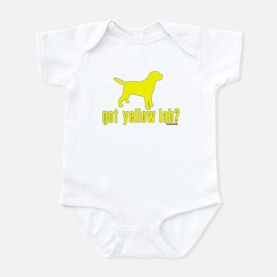 got yellow lab? Infant Bodysuit