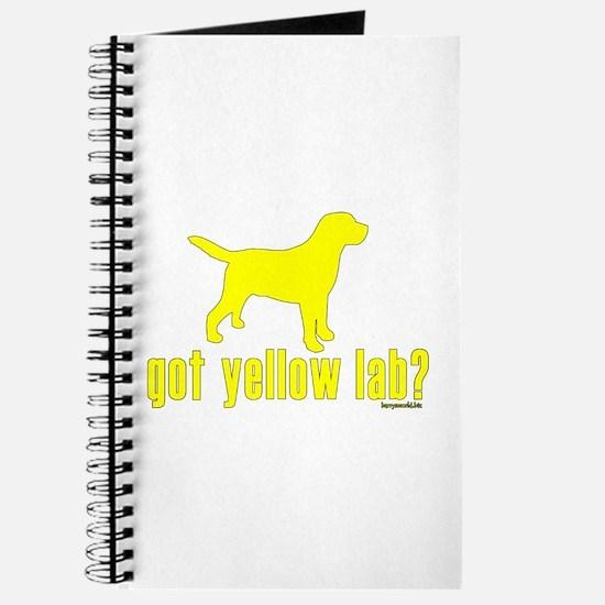 got yellow lab? Journal