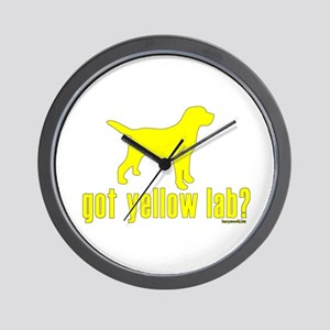 got yellow lab? Wall Clock