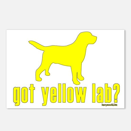 got yellow lab? Postcards (Package of 8)