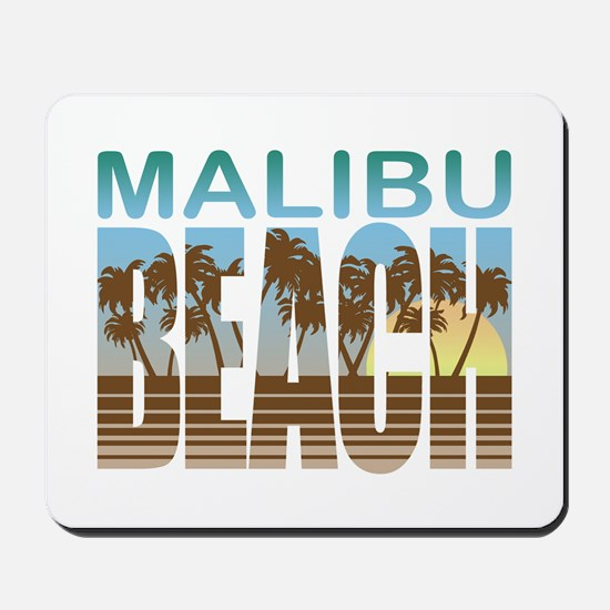 Malibu Beach Mousepad