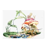Fairy and Dragon Postcards (Pkg of 8)