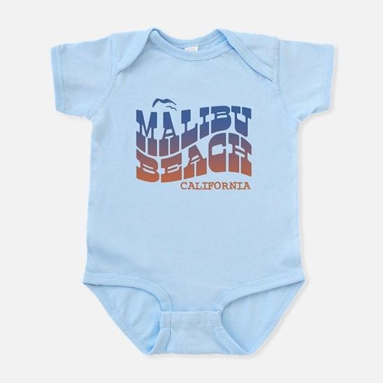 Malibu Beach California Infant Bodysuit