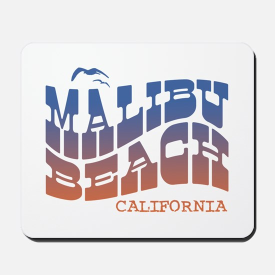 Malibu Beach California Mousepad