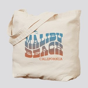 Malibu Beach California Tote Bag