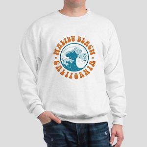 Malibu Beach California Sweatshirt