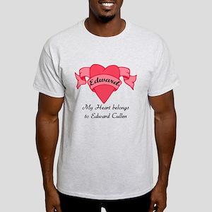 My Heart belongs to Edward Light T-Shirt