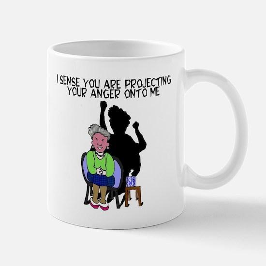 projecting your anger Mug