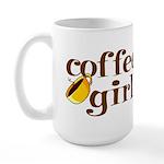 Coffee Girl Large Mug
