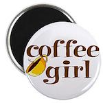 Coffee Girl Magnet